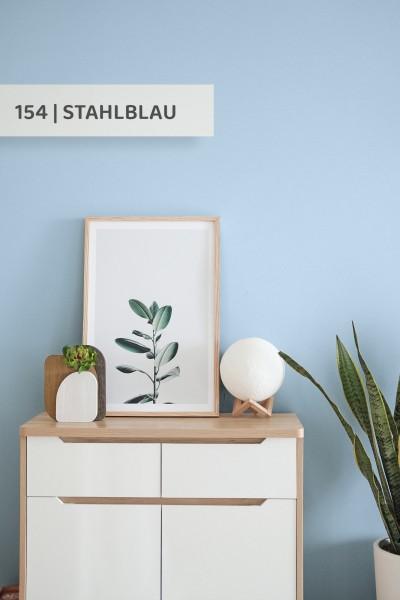 Volvox | Espressivo Lehmfarbe | Stahlblau 154