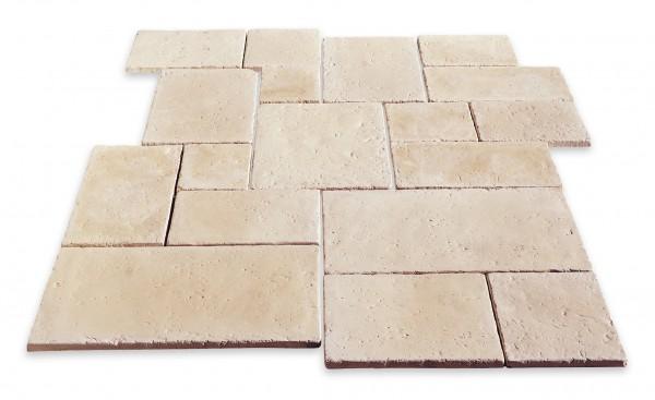 Cotto-Stone Châtelaine | Römischer Verband | Reihenverband