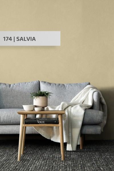 Volvox | Espressivo Lehmfarbe | Salvia 174