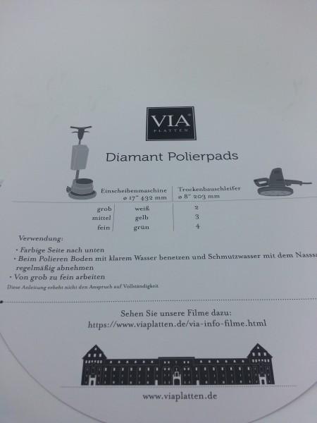 Diamantpolierpads-Set | 3 Stück