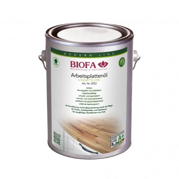 Biofa Arbeitsplattenöl   lösemittelfrei, kobaltfrei   2052 farblos
