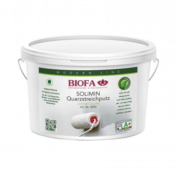 Biofa | SOLIMIN Quarzstreichputz | weiß | 3055