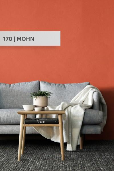 Volvox | Espressivo Lehmfarbe | Mohn 170