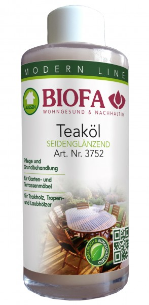 Biofa | Teaköl | auch für Gartenmöbel | 3752