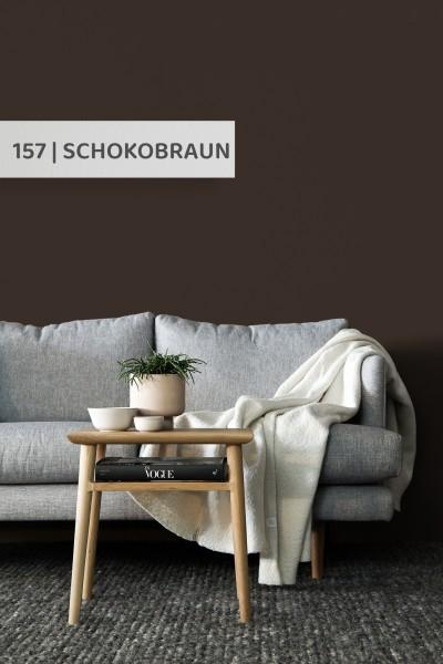 Volvox | Espressivo Lehmfarbe | Schokobraun 157