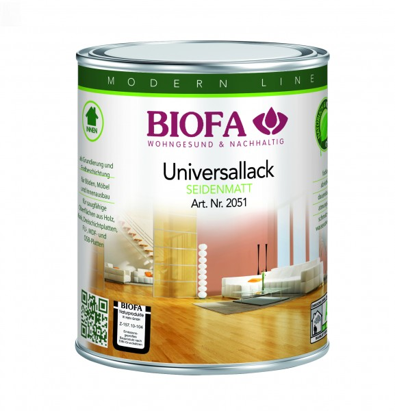 Biofa Universallack | transparent | matt oder glänzend | Fußboden- u. Möbellack