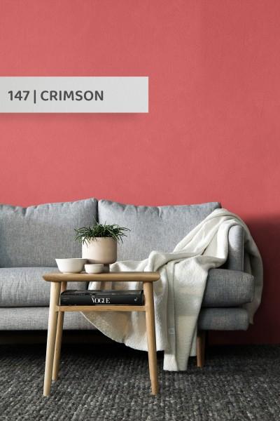 Volvox   Espressivo Lehmfarbe   Crimson 147