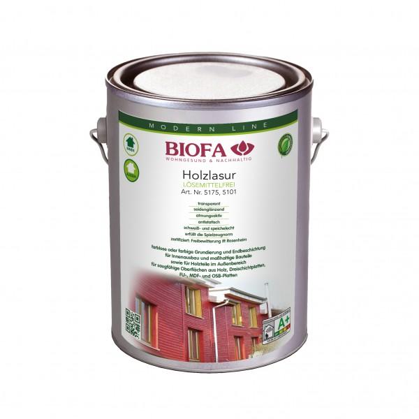 Biofa | Holzlasur farblos | lösemittelfrei | 5175