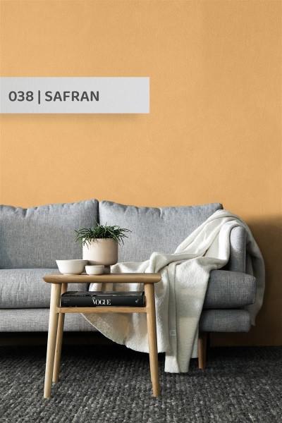 Volvox   Espressivo Lehmfarbe   Safran 038