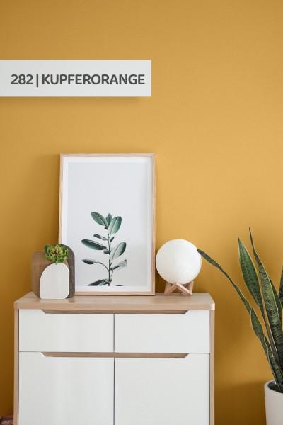 Volvox | Espressivo Lehmfarbe | Kupferorange 282