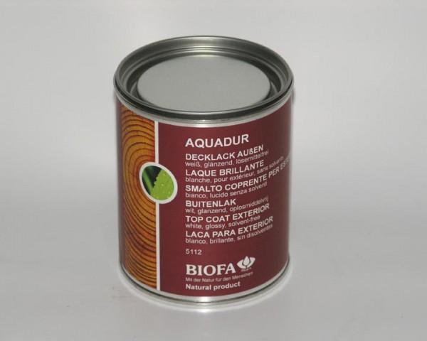 Biofa | LANDHAUSFARBE AQUA außen | weiß | 5112