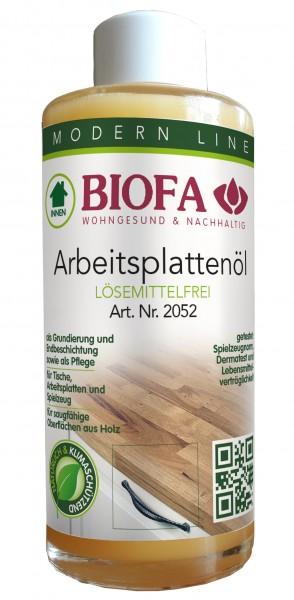 Biofa Arbeitsplattenöl | lösemittelfrei | 2052 farblos