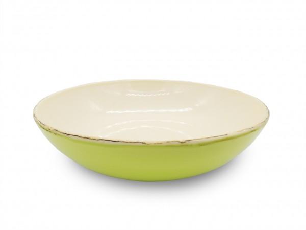 Italienische Keramik | Obstschale Ø 34 cm | handgemacht