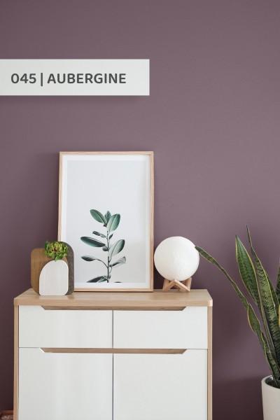 Volvox | Espressivo Lehmfarbe | Aubergine 045