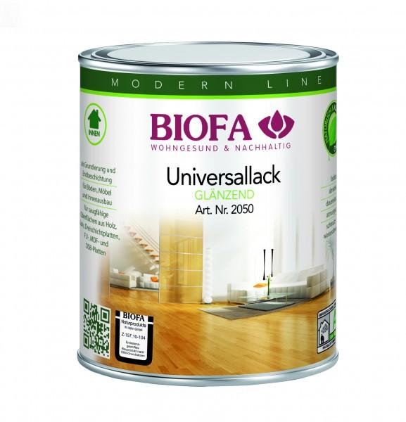 Biofa Universallack, transparent, glänzend, Fußboden- und Möbellack 2050