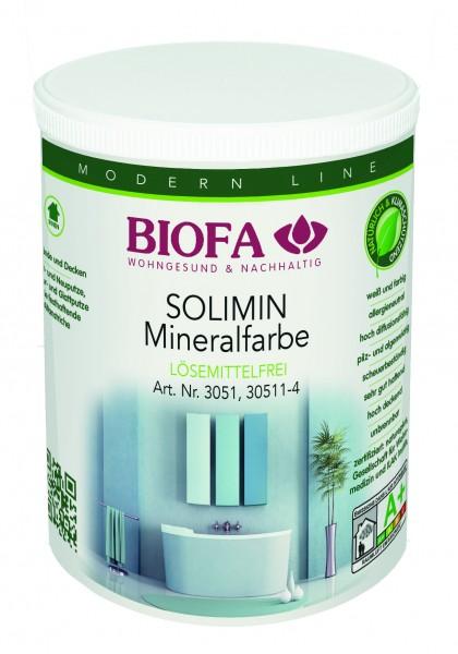 Biofa | SOLIMIN Mineralfarbe | weiß | 3051