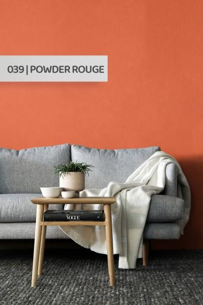 Volvox | Espressivo Lehmfarbe | Powder Rouge 039