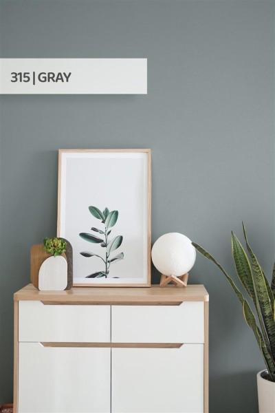 Volvox | Espressivo Lehmfarbe | Gray 315