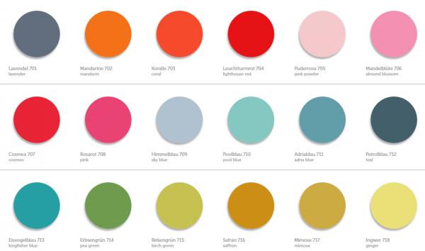 VIA Kreidefarbe | Wandfarbe | Möbelfarbe | Shabby Chic | Vintage Look