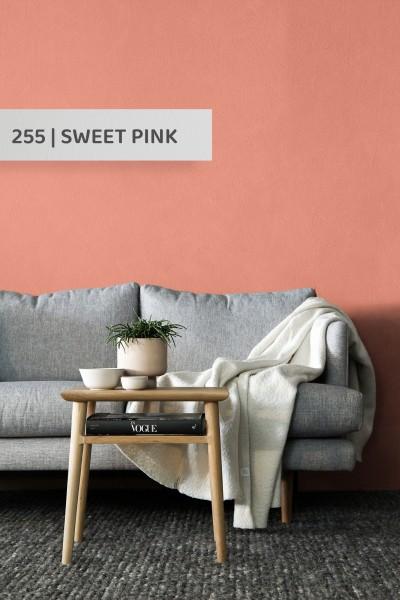 Volvox | Espressivo Lehmfarbe | Sweet Pink 255