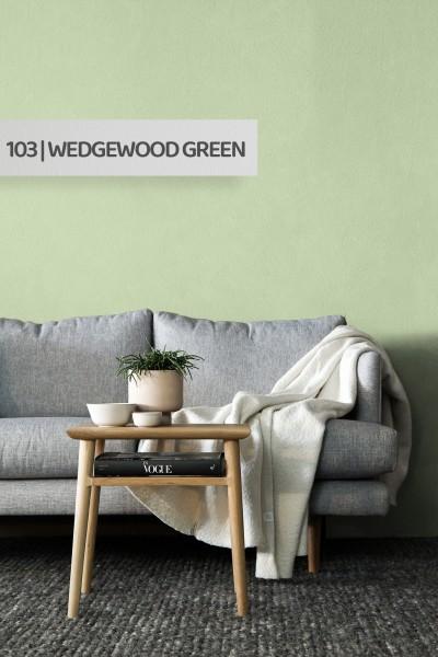 Volvox | Espressivo Lehmfarbe | Wedgewood Green 103