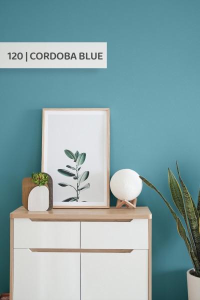Volvox | Espressivo Lehmfarbe | Cordoba Blue 120