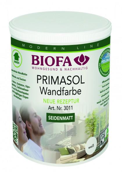 Biofa | PRIMASOL Wandfarbe | seidenmatt | weiß | 3011