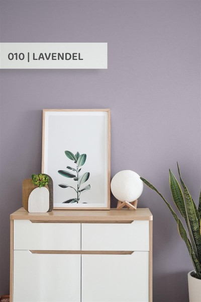 Volvox | Espressivo Lehmfarbe | Lavendel 010