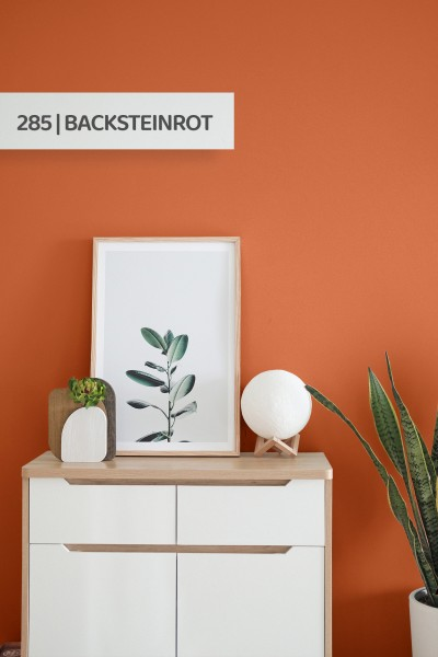 Volvox | Espressivo Lehmfarbe | Backsteinrot 285
