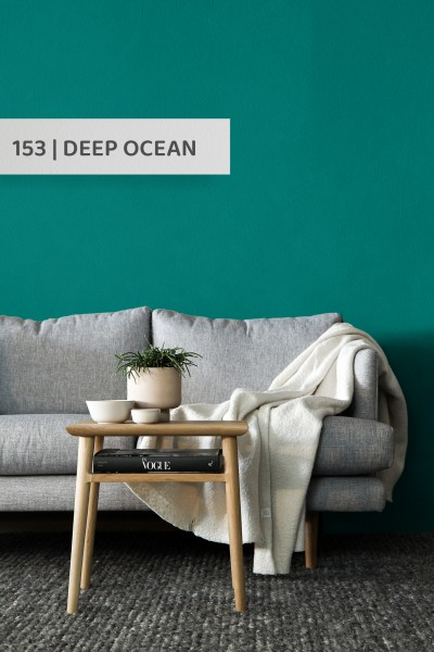 Volvox | Espressivo Lehmfarbe | Deep Ocean 153