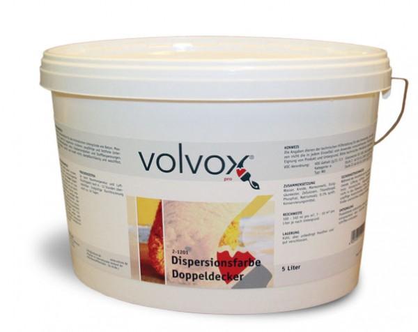 Volvox   Pro   Dispersionsfarbe Doppeldecker