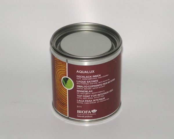 Biofa | AQUALUX Decklack innen | weiß | glänzend | 5111